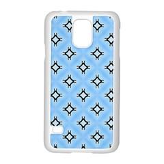 Cute Pretty Elegant Pattern Samsung Galaxy S5 Case (White)
