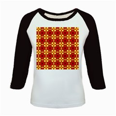 Cute Pretty Elegant Pattern Kids Baseball Jerseys