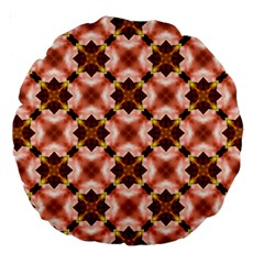 Cute Pretty Elegant Pattern Large 18  Premium Round Cushions