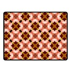 Cute Pretty Elegant Pattern Double Sided Fleece Blanket (Small)  45 x34 Blanket Back