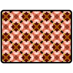 Cute Pretty Elegant Pattern Double Sided Fleece Blanket (large)