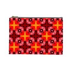 Cute Pretty Elegant Pattern Cosmetic Bag (large)