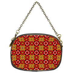 Cute Pretty Elegant Pattern Chain Purses (one Side)
