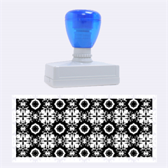 Cute Pretty Elegant Pattern Rubber Stamps (large)