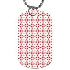 Cute Pretty Elegant Pattern Dog Tag (one Side)