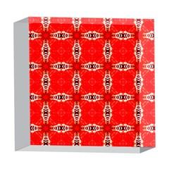 Cute Pretty Elegant Pattern 5  x 5  Acrylic Photo Blocks