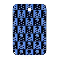 Blue Skull Checkerboard Samsung Galaxy Note 8 0 N5100 Hardshell Case