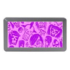 Purple Skull Sketches Memory Card Reader (mini)