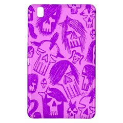 Purple Skull Sketches Samsung Galaxy Tab Pro 8 4 Hardshell Case