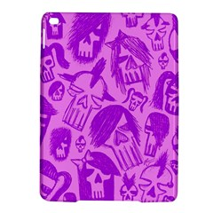 Purple Skull Sketches iPad Air 2 Hardshell Cases