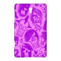 Purple Skull Sketches Samsung Galaxy Tab S (8.4 ) Hardshell Case