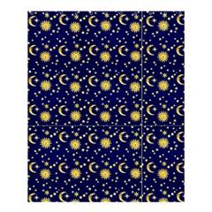 Sun, Moon & Stars Shower Curtain Shower Curtain 60  X 72  (medium)