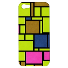 Squares And Rectangles Apple Iphone 5 Hardshell Case
