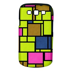 Squares And Rectangles Samsung Galaxy S Iii Classic Hardshell Case (pc+silicone)