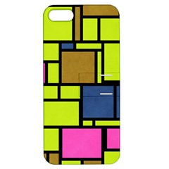 Squares And Rectangles Apple Iphone 5 Hardshell Case With Stand
