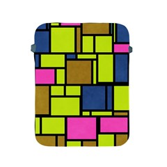 Squares And Rectangles Apple Ipad 2/3/4 Protective Soft Case