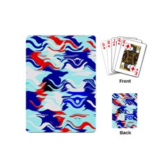 Wavy Chaos Playing Cards (mini)