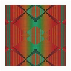 Striped Tribal Pattern Medium Glasses Cloth