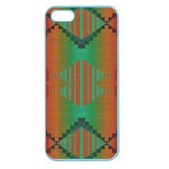Striped Tribal Pattern Apple Seamless Iphone 5 Case (color)