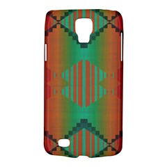 Striped Tribal Pattern Samsung Galaxy S4 Active (i9295) Hardshell Case