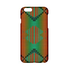 Striped Tribal Pattern Apple Iphone 6 Hardshell Case