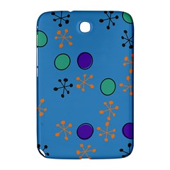 Circles And Snowflakes Samsung Galaxy Note 8 0 N5100 Hardshell Case