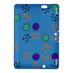 Circles And Snowflakes Kindle Fire Hdx 8 9  Hardshell Case