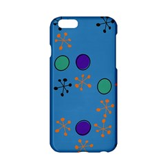 Circles And Snowflakes Apple Iphone 6 Hardshell Case