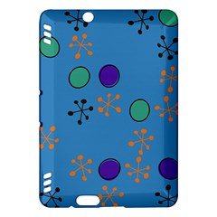 Circles And Snowflakes	kindle Fire Hdx Hardshell Case
