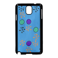 Circles and snowflakes Samsung Galaxy Note 3 Neo Hardshell Case