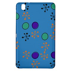Circles And Snowflakessamsung Galaxy Tab Pro 8 4 Hardshell Case