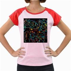 Soul Colour Women s Cap Sleeve T-Shirt
