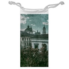 Colonial Architecture At Historic Center Of Bogota Colombia Jewelry Bags