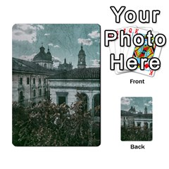 Colonial Architecture At Historic Center Of Bogota Colombia Multi-purpose Cards (Rectangle)