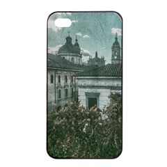 Colonial Architecture At Historic Center Of Bogota Colombia Apple iPhone 4/4s Seamless Case (Black)