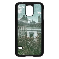 Colonial Architecture At Historic Center Of Bogota Colombia Samsung Galaxy S5 Case (black)