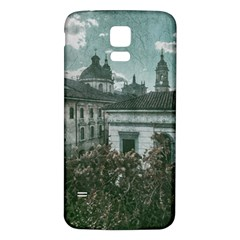 Colonial Architecture At Historic Center Of Bogota Colombia Samsung Galaxy S5 Back Case (White)