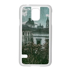 Colonial Architecture At Historic Center Of Bogota Colombia Samsung Galaxy S5 Case (White)