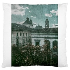 Colonial Architecture At Historic Center Of Bogota Colombia Standard Flano Cushion Cases (one Side)