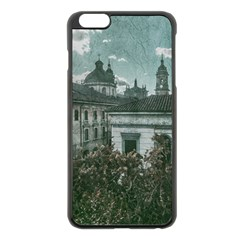 Colonial Architecture At Historic Center Of Bogota Colombia Apple iPhone 6 Plus Black Enamel Case