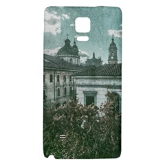 Colonial Architecture At Historic Center Of Bogota Colombia Galaxy Note 4 Back Case
