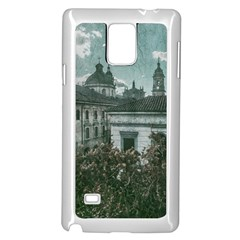 Colonial Architecture At Historic Center Of Bogota Colombia Samsung Galaxy Note 4 Case (White)