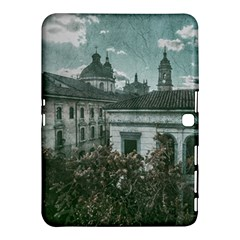 Colonial Architecture At Historic Center Of Bogota Colombia Samsung Galaxy Tab 4 (10 1 ) Hardshell Case