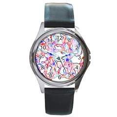 Soul Colour Light Round Metal Watches