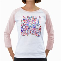 Soul Colour Light Girly Raglans