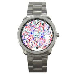 Soul Colour Light Sport Metal Watches