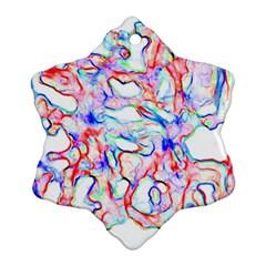 Soul Colour Light Snowflake Ornament (2 Side)