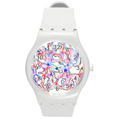 Soul Colour Light Round Plastic Sport Watch (m)