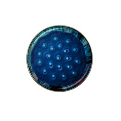 Blue Plant Hat Clip Ball Marker (10 Pack)