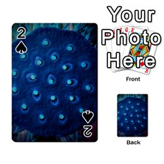 Blue Plant Playing Cards 54 Designs